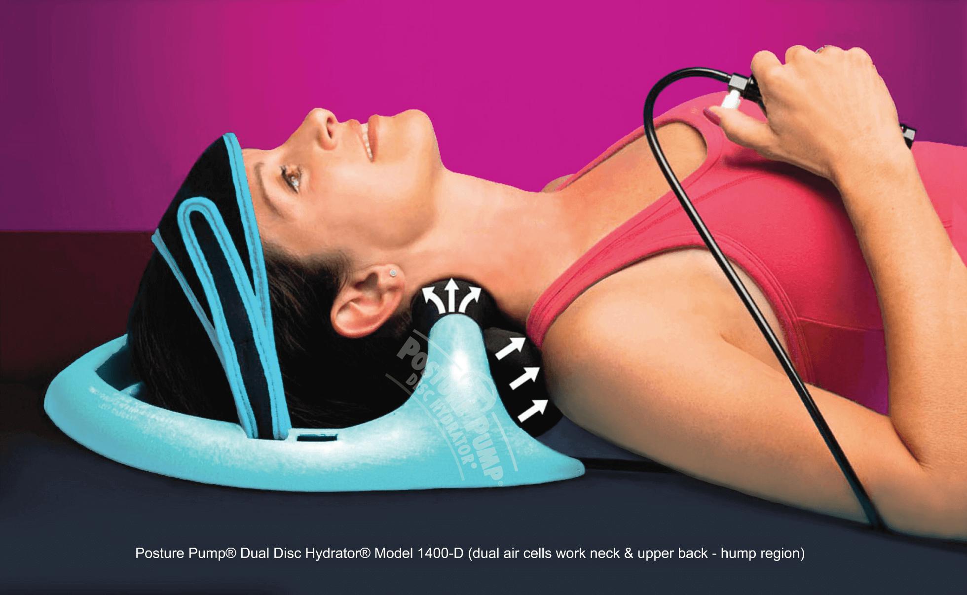 Posture Pump Cervical Disc Hydrator (model 1400)
